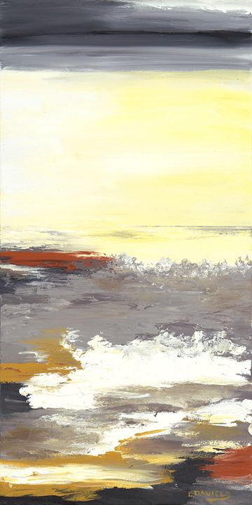 Out At Sea - LDaniels Art