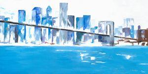 New York Blue - LDaniels Art