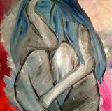 Bluesday--original painting 20'x20'
