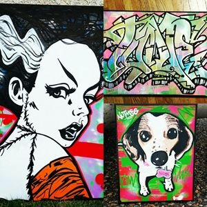 Custom canvases by Orikal Uno!