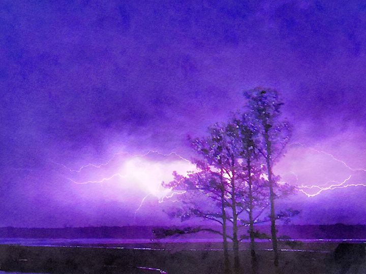 Chincoteague Lightning - Rrrosepix