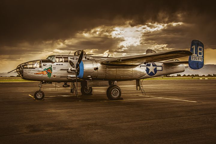 B-25 Maid in the Shade - Steve F. Gray