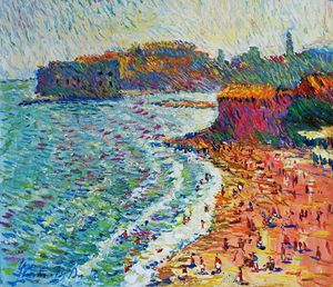 """Dubrovnik. Beach"", Chebotaru A."