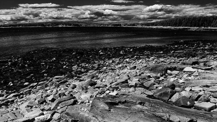 Acadia Winter Harbor - Cantor Photography
