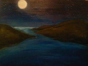 Full moon river