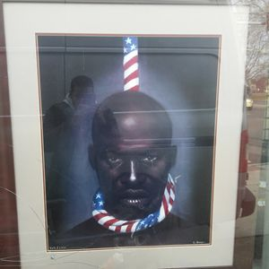 Black Man in America - Black America (Fine Black Art)