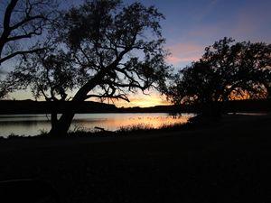 Fall Sunset in Kansas - Scott Lake