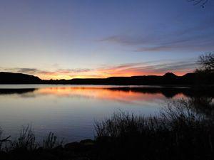 Serenity - Sunset on the Lake