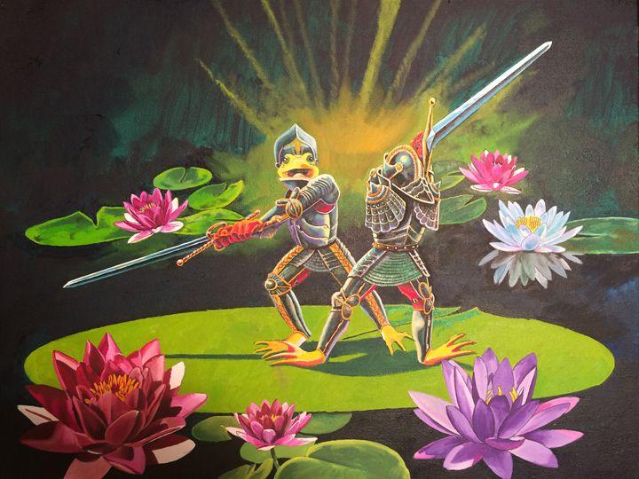 the duel - tom donovan artwork