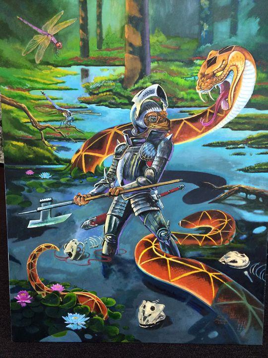 the boneyard - tom donovan artwork