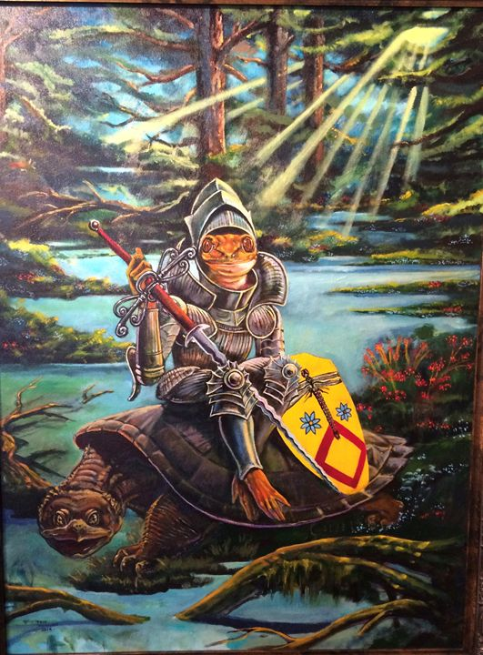 crusader - tom donovan artwork