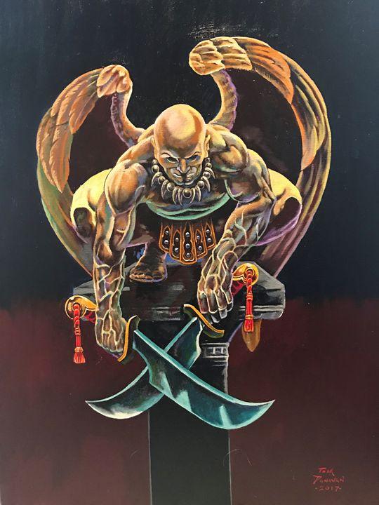 death angel - tom donovan artwork