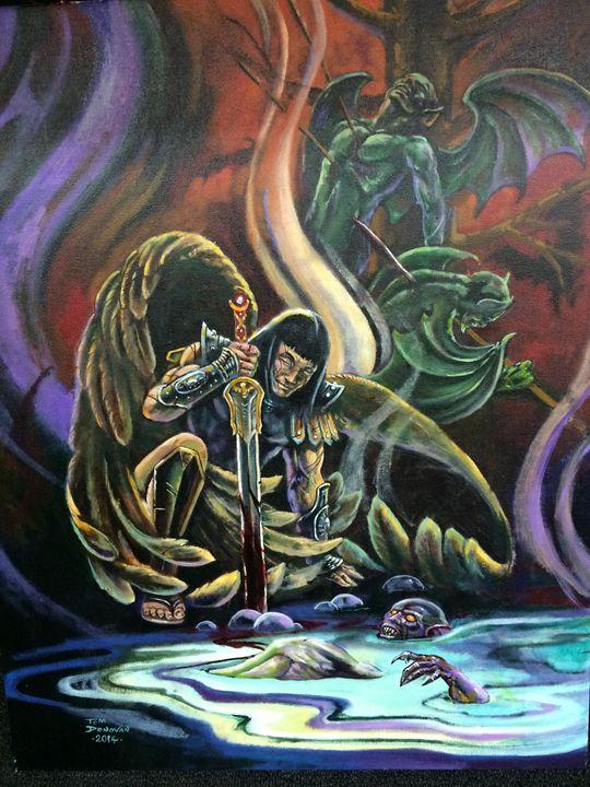 The Aftermath - tom donovan artwork