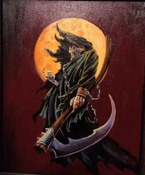 The beckoning - tom donovan artwork