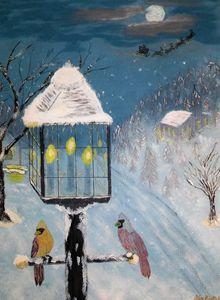 Christmas Eve snow