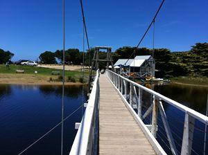 """Swing Bridge at Lorne Australia'"