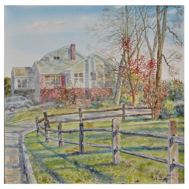 gardens - GXL's paintings