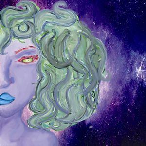 Curly Alien Woman