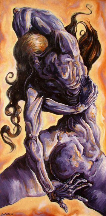 The quest for inner self - Darwin Leon Fine Art