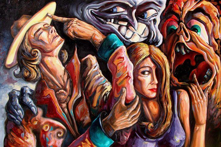 The manipulation of ... - Darwin Leon Fine Art