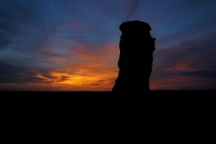 Monument Rocks Sunset - Ad Astra Images
