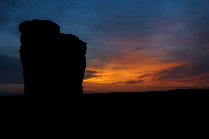 Sunset at Monument Rocks - Ad Astra Images