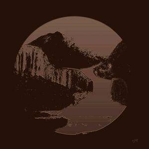 Tintype Landscape