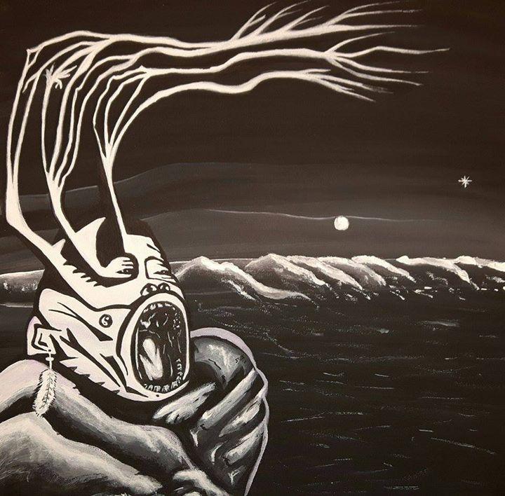 wild nights - Artwork by Justin Strickland