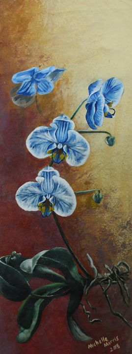 Blue Orchid - M3Arts