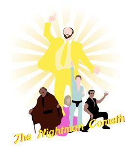 The Nightman Cometh poster
