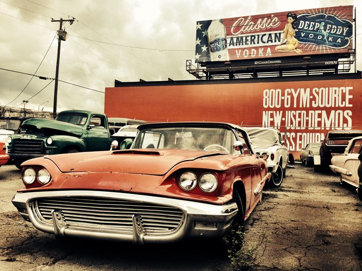 Sixties Thunderbird - MarcSchmidtPhotography