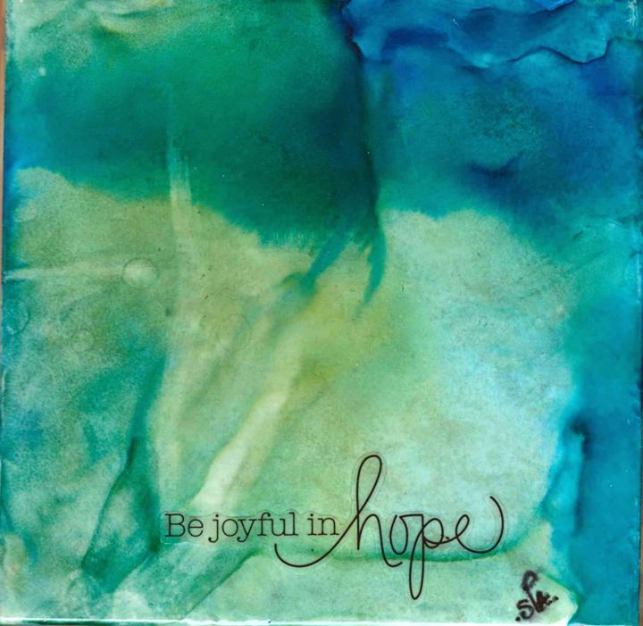 Be Joyful in Hope - AdagioArt