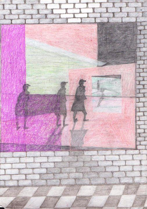 Gallery Wall Space, Mausoleum.... - Tendai Mwanaka