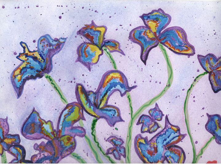 Color Flowers - Angela's Art