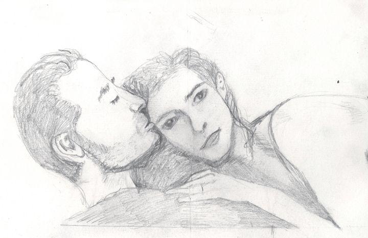 Lovers - Angela's Art