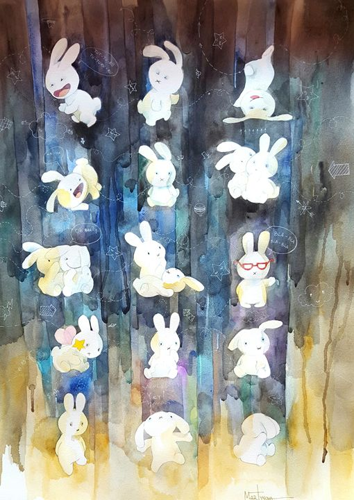 Toy Story | Bunnysutra of happiness - Yuliya Martynova