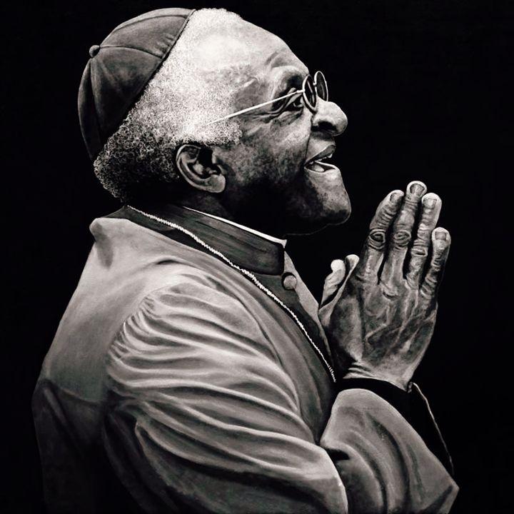 Desmond Tutu - Artist Print - Marc Alexander