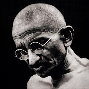 Gandhi #2 - Artist Print