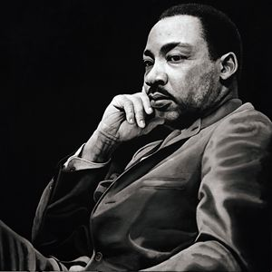 Martin Luther King - Artist Print
