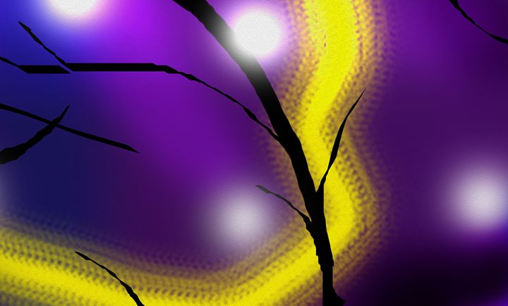 Firefly In The Fog (Right) - Fitry D Mangaka