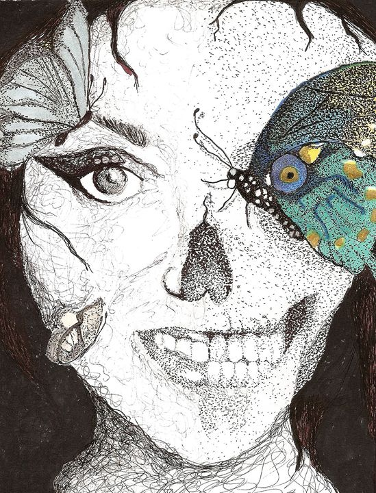 What Lie's Beneath - Art b K DeLeon