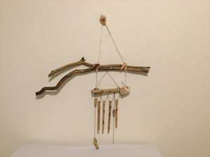 Driftwood Bamboo wind chimes