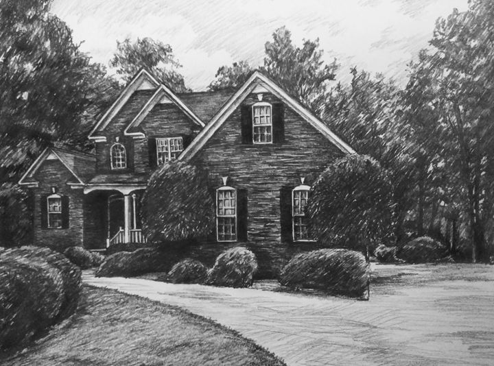 sketch house #5 - HendriArt