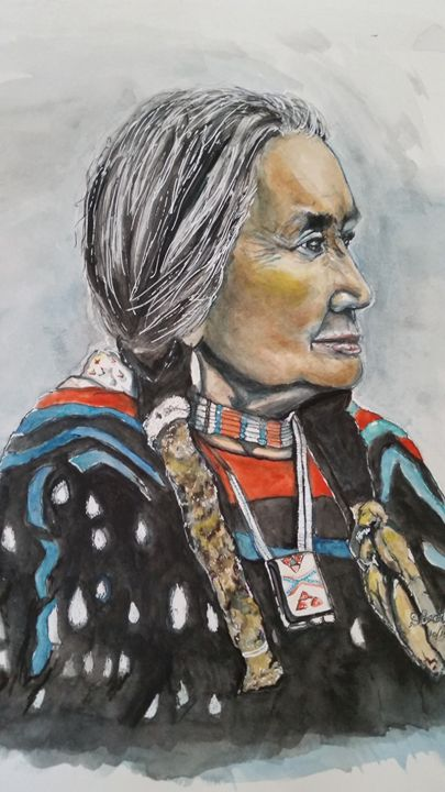 Strong One- Chief Dan George - Out of Darkness: Diane Beatty