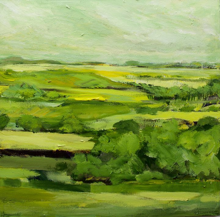 Stow on the Wold - Allan Friedlander's  paintings