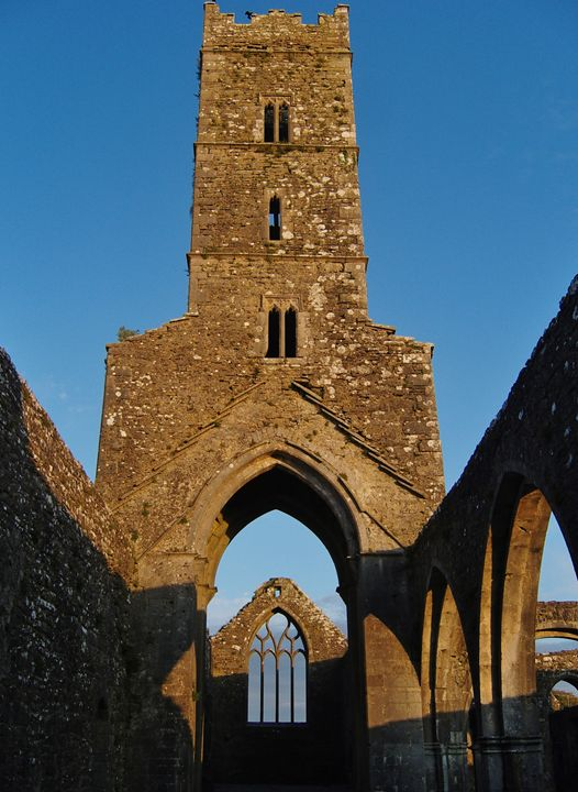 Old Church Galway - Pictures of Ireland