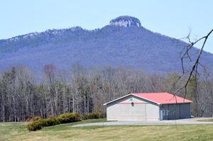 Landscape at Pilot Mountain, NC