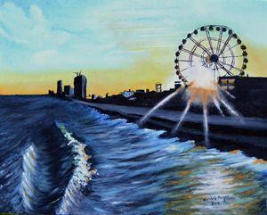 Sunset on Myrtle Beach