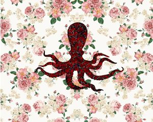 Octopus floral