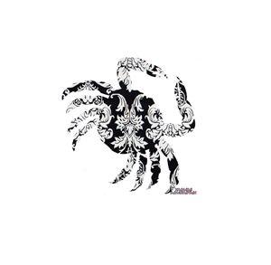Crab Damask